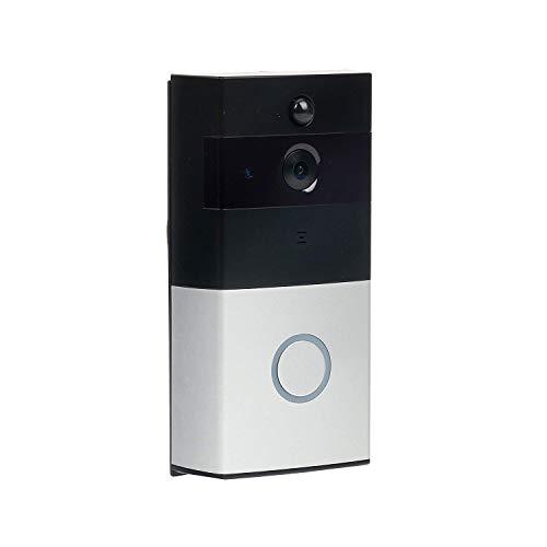 Ring Video Doorbell Vídeo HD 720P, comunicación bidireccional, detección de movimiento, conexión Wi-Fi IP55 Impermeable,IR Vision nocturna,Cámara Inalámbrica Inteligente Video Timbre