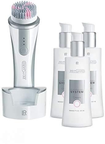 Elektrische 10xFach Gesichtsreinigungsbürste Soft für sensible Haut mit Microsilver - Weltneuheit Zeitgard von LR