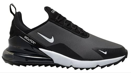 Nike Air MAX 270G, Zapatos de Golf Hombre, Negro/Blanco, 42 EU