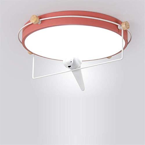 Thumby plafond licht plafond lampen Scandinavische stijl eenvoudige smeedijzer rode slaapkamer lamp vogel decoratie kunst studie rond huis lamp creatieve vreemde led slaapkamer lamp