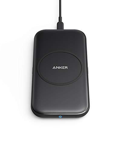 Anker PowerWave Base Pad Wireless Ladegerät, Qi-zertifiziert, 7.5W für iPhone 11, 11 Pro, 11 Pro Max, X, Xs, Xr, Xs Max, 8, sowie 10W für Galaxy S10, S9, S8, Note 10, 9 (Netzteil nicht inklusive)