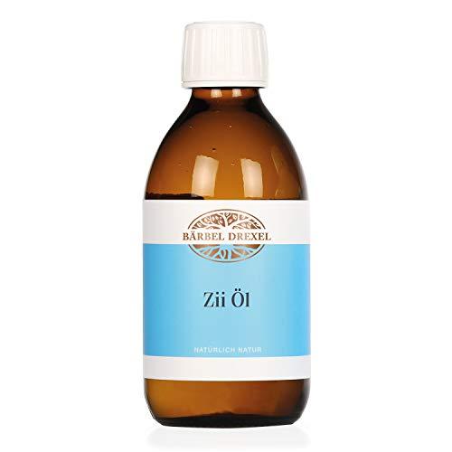 BÄRBEL DREXEL Zii Öl Natürliches Mundziehöl Pfefferminze (250ml) Ayurvedische Mundspülung zum...
