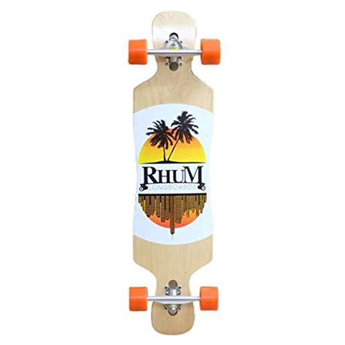Rhum Granada 38 DT Original Drop Through Longboard Twin Tip