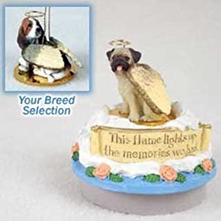 Conversation Concepts Miniature Basset Hound Candle Topper Tiny One Pet Angel Ornament