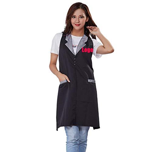 RMI werkkleding met kraag stylist Cape Gown kappersdoek cover waterdicht schort voor Salon