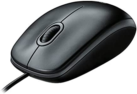 Logitech B100 - Ratón óptico, Color Negro