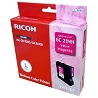 ( お徳用 5セット) RICOH(リコー) ジェルジェットインクL GC21MH 【×5セット】