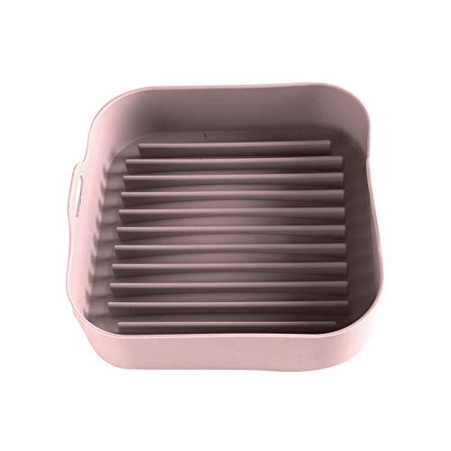 Pentola in silicone per friggitrice ad aria, sostituzione di rivestimenti in carta pergamena, cestello di ricambio per friggitrice ad aria, cestello per friggitrice ad aria in silicone per alimenti