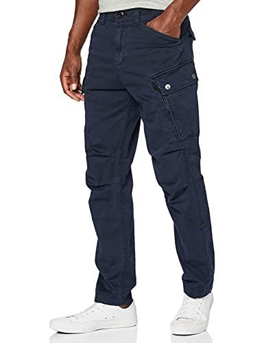 G-STAR RAW Herren Hose Roxic Tapered Cargo, Blau (Mazarine Blue 4893-4213), 29W / 32L