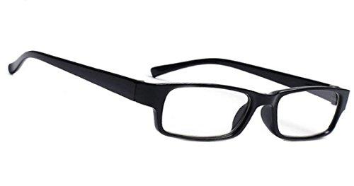 morefaz New Unisex (Damen Herren) Retro Vintage Lesebrille Brille +0.50 +0.75 +1.0 +1.5 +2.0 +2.5 +3.00 +4.00 Reading Glasses (TM) (+0.75, Black)