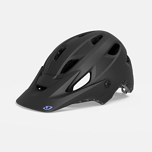 Giro Cartelle MIPS Womens Mountain Cycling Helmet - Medium (55-59 cm), Matte Black/Electric Purple (2020) -  7114024
