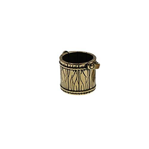 EXCEART Encantos Colgantes de Bronce Latón Antiguo Afortunado Forma de Cubo Encantos de La Joyería Hallazgos de La...