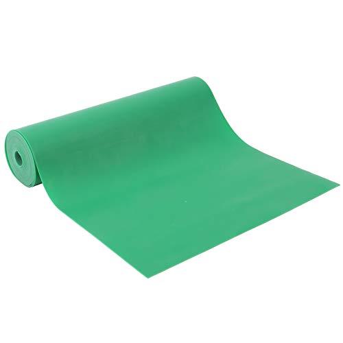 IDWT Banda de Goma anticongelante, Banda de Goma Verde Banda de Goma Plana, anticongelante de 150 mm de Ancho para competiciones Deportivas(0.5mm*2m)