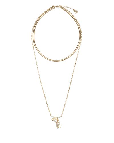 Vince Camuto 18'/30' Multi-Row Charm Necklace
