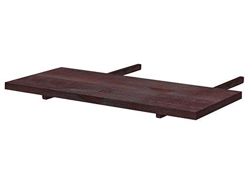 Loft24 A/S 2X Ansteckplatte Esstisch Ausziehplatte Tischerweiterung Tischplatte Tischverlängerung 90x40 cm Kiefer Massivholz