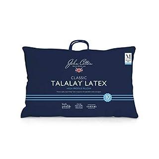 John Cotton Talalay Latex Pillow Talalay Latex Pillow, High (B07ZL2F8YZ) | Amazon price tracker / tracking, Amazon price history charts, Amazon price watches, Amazon price drop alerts