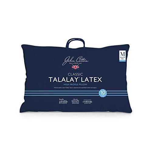 John Cotton Talalay Latex Pillow Talalay Latex Pillow, High