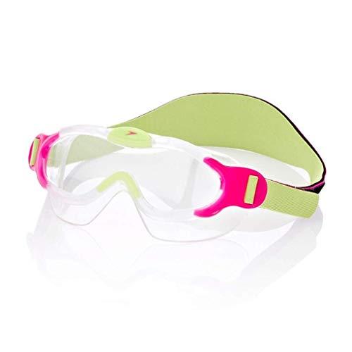 JBP max zwembril voor kinderen HD anti-mist zwembril zacht en comfortabel 2-6 jaar oud