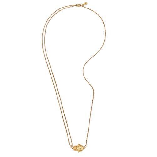 Alex and Ani Hand der Fatima Halsketter, 14kt gold platiert
