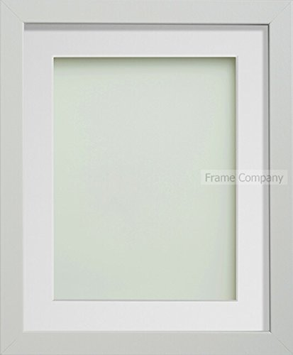 Frame Company Allington Range Picture Photo Frame with White Mount for Image Size A4 Image - 14 x 11 Inches, White