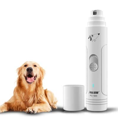 Electric Pet Nail Grinder Auto Cat Dog Nail Grooming File Professional Paws Grinder Clipper Trimmer Pet Nail Care Tool JASE PC-500
