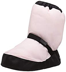 in budget affordable Bloch Girls Booties Warm Up Boots / Slippers, Candy Pink, Small