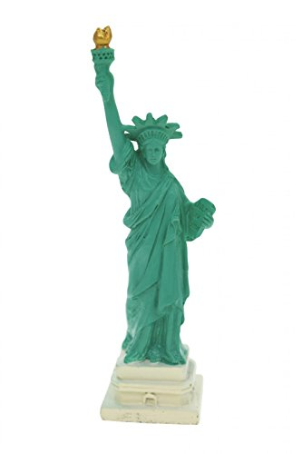 Unbekannt Freiheitsstatue Statue of Liberty 10 cm New York Figur Skulptur Deko Tortendeko