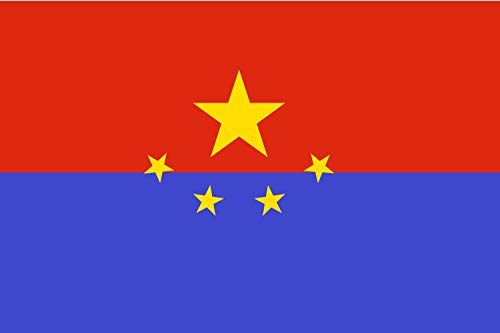 magFlags Drapeau Large Proposed Flag for Hong Kong SAR 002   Before Hong Kong s Transfer of Sovereignty   Drapeau Paysage   1.35m²   90x150cm