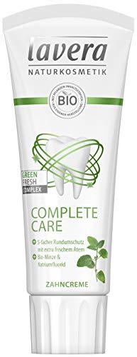 Lavera Zahncreme Complete Care ∙ Bio-Minze & Natriumfluorid ∙ Vegan Bio Pflanzenwirkstoffe Naturkosmetik Zahnpflege ∙ 75 Ml ∙ 1er Pack