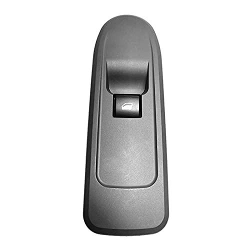 Rumors Montaje del Interruptor del regulador de la Ventana Frente Derecho 649 0GL / 96657929BK Ajuste para Citroen C5 Peugeot 508 (Color : Black)