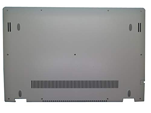 RTDpart Estuche Inferior para computadora portátil para Lenovo Yoga 500-15IBD 500-15IHW 500-15ISK Flex3-1570 Flex3-1580 5CB0H91172 46K.03SCS.0005 Cubierta Inferior para Base Blanca Nuevo
