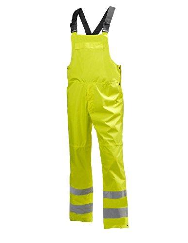 Helly Hansen Work Overalls Mens Waterproof Bib 2XL Yellow 71587
