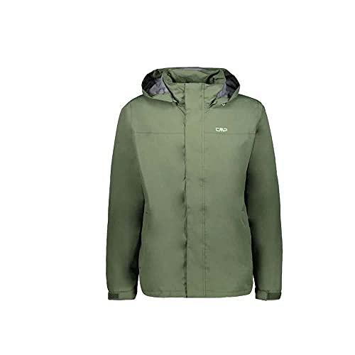 CMP Herren Windproof and Waterproof rain Jacket WP 10.000 Jacke, Musk, 56