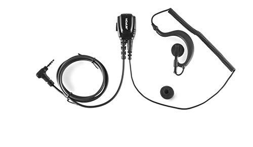 JETFON Micro-Auricular JDR-1704 E/C Compatible con Walkies Vertex/Yaesu y Dynascan AD09 y 1D