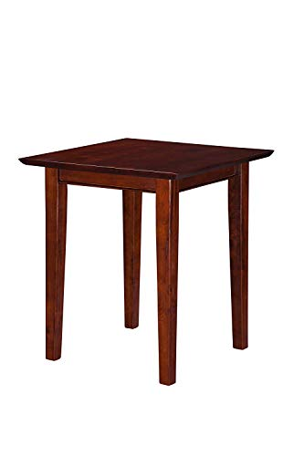 Atlantic Furniture Shaker End Table, Walnut