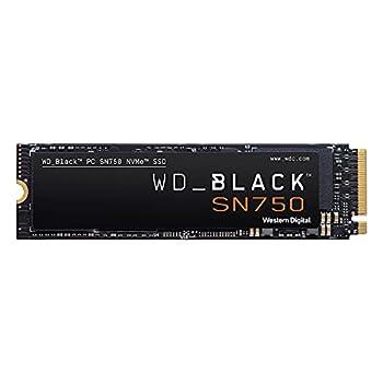 WD_BLACK 500GB SN750 NVMe Internal Gaming SSD Solid State Drive - Gen3 PCIe M.2 2280 3D NAND Up to 3,430 MB/s - WDS500G3X0C