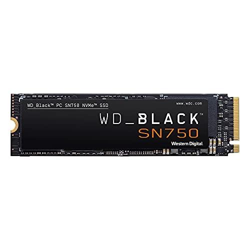 WD 内蔵 SSD M.2 2280 / WD BLACK SN750 NVMe 500GB / ゲーム ゲームPC カスタムPC向け ハイパフォーマンス SSD / WDS500G3X0C