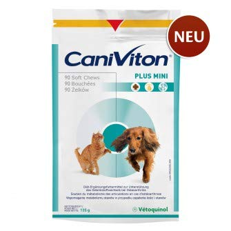 Vetoquinol Caniviton Plus Mini, Option:90 Chews