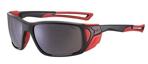 Cébé Erwachsene Proguide Sonnenbrille, Matte Black Red, Large