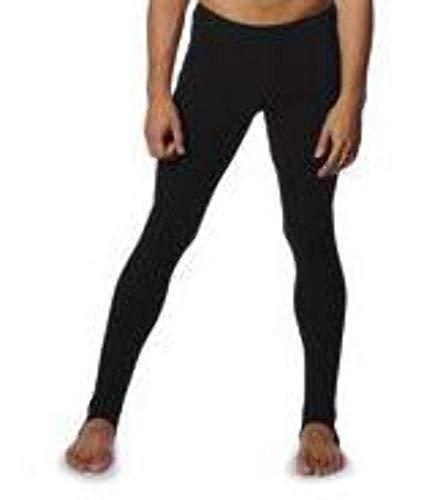 Roch Valley - Mallas largas de ballet para niño (algodón y licra, 3 a 13 años) negro negro Talla:9-10 años