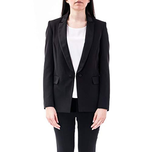 Liu Jo Luxury Fashion Damen IA0078T789622222 Schwarz Polyester Blazer | Frühling Sommer 20
