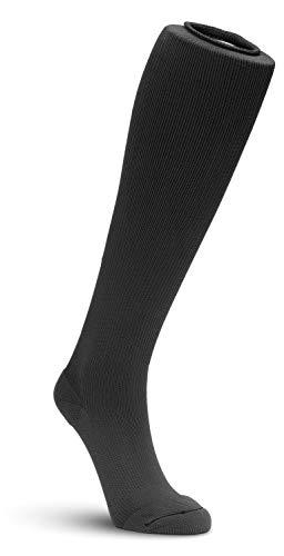 EXTREMIT-EASE® Unisex Kompressionsstrümpfe (groß) in Grau   10–20 mmHg   leichtes Kleidungsstück Liner