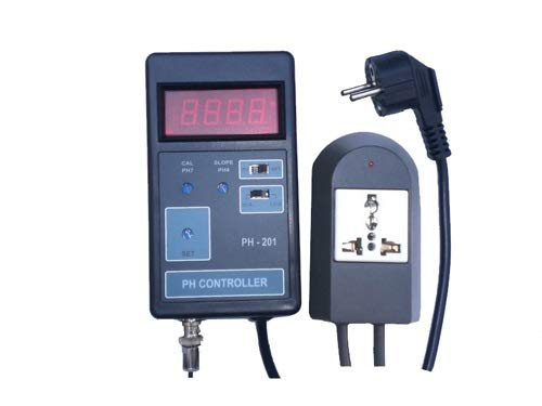 OCS.tec Wasserdichter PH-Controller Regler CO2-Wert Koi Aquarium Pool Süß- und Salzwasser Mini-PH-Elektrode P10