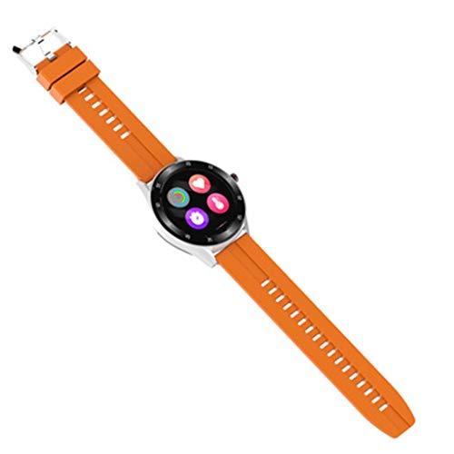 GLJ Relojes Reloj Inteligente, Reloj Inteligente con Pantalla Táctil De 1,3', Rastreadores de Actividad a Prueba de Agua IP67 Mire el Cronómetro del Podómetro, Reloj Inteligente para Hombres, Mujeres