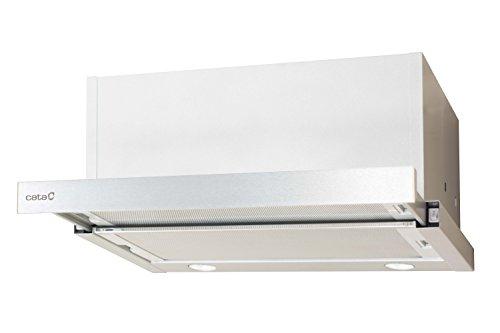 Cata TF 6600 Duralum 60 / 60,0 cm / Flachschirmhaube mit Paneel / Inox farbe