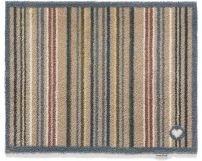 Hug Rug Paillasson Rayures colorées 65 x 85 cm-Rayures-Taupe 26