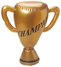Set of 2 Inflatable Trophy- PERFECT FOR CARNIVAL GAMES OR CLASSROOM ACTIVITIES OR BIRTHDAY PARTIES