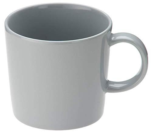 Iittala Teema Becher, Kaffeebecher, Kaffeetasse, Teebecher, Teetasse, Tasse, Vitro Porzellan, Perlgrau, 300 ml, 1005887