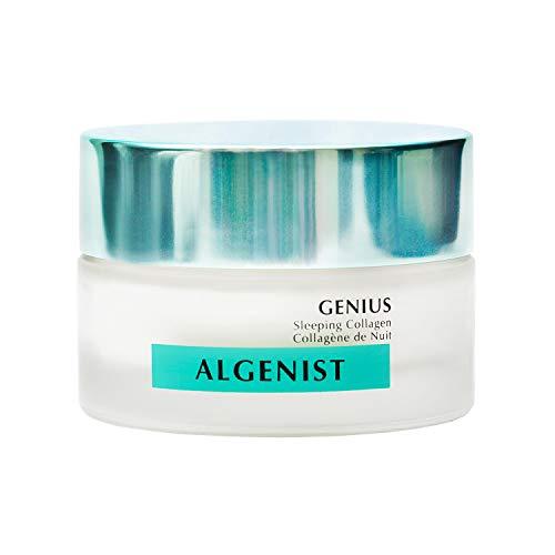 Algenist GENIUS Sleeping Collagen - Vegan Collagen Night Cream with Ceramides for Smooth, Glowing Skin - Non-Comedogenic & Hypoallergenic Skincare
