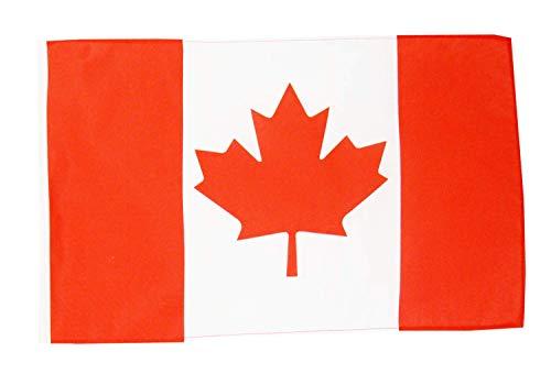 FlagSuperstore© Kanada Bootsflagge 45,7 x 30,5 cm – Baumhäuser, Wohnwagen – Ärmel 45 cm x 30 cm – Country